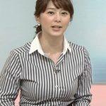 【GIF画像】NHK 杉浦友紀アナの「乳揺れGIF」でシコり散らしたいヤツはちょっと来い!