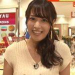 【画像】鷲見玲奈アナの最新おっぱいがガチで美味しそう!