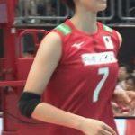 【GIF画像】女子バレー・石井優希さん、とんでもなくおっぱいを揺らしてしまうwwwwwww