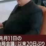 【衝撃画像】金正恩さん、やっぱり別人になってしまった模様…