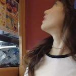 【動画像】島崎遥香(27)がお●ぱい強調しながら1人寂しく、くら寿司!